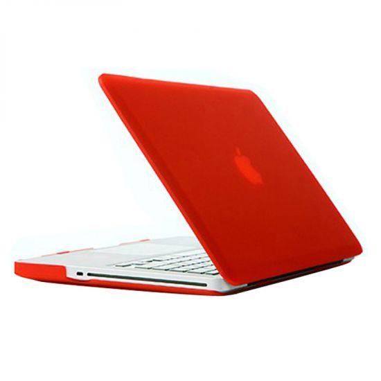 Mobigear Matte Case für MacBook Pro 13 Zoll A1278 - Rot