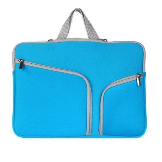 Mobigear Basic Neopren Laptoptasche Universal Laptop 13 Zoll - Blau
