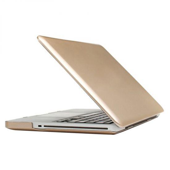 Mobigear Metallic Case für MacBook Pro 13 Zoll A1278 - Gold