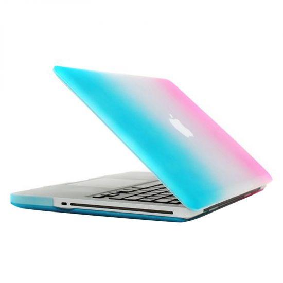 Mobigear Matte Case für MacBook Pro 15 Zoll - Blau / Pink