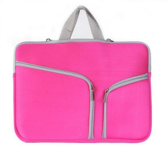 Mobigear Basic Neopren Laptoptasche Universal Laptop 15 / 16 Zoll - Pink