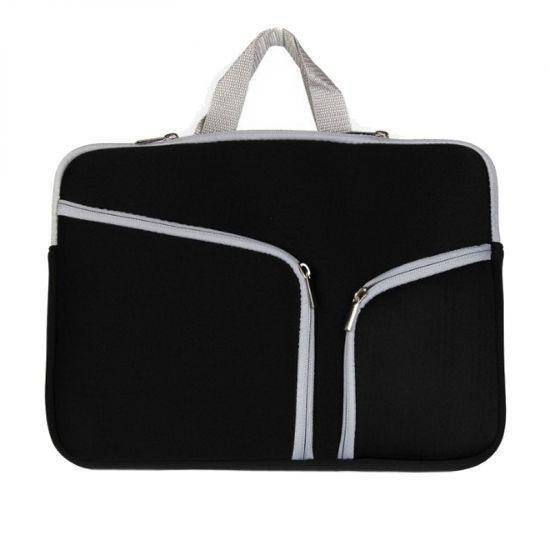 Mobigear Basic Neopren Laptoptasche Universal MacBook Air 11 Zoll A1370 / A1465 - Schwarz