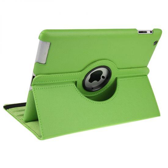 Mobigear 360 Rotating Klapphülle für iPad 4 (2012) / iPad 3 (2012) / iPad 2 (2011) - Grün