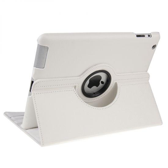 Mobigear 360 Rotating Klapphülle für iPad 4 (2012) / iPad 3 (2012) / iPad 2 (2011) - Weiß