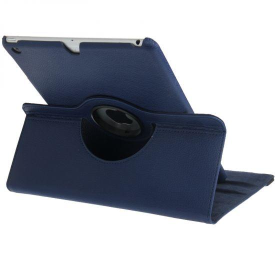 Mobigear 360 Rotating Klapphülle für iPad 6 (2018) / iPad 5 (2017) / iPad Air 1 (2013) - Dunkelblau