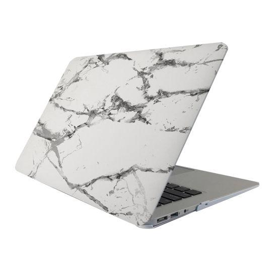 Mobigear Marmor Case für MacBook Pro 15 Zoll A1286 - Weiß