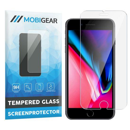 Mobigear Panzerglas Displayschutz für iPhone 8 Plus / 7 Plus / 6(s) Plus