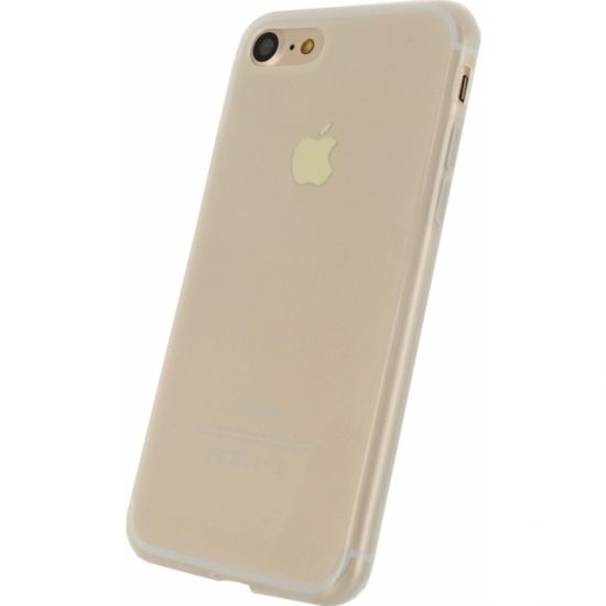 Mobilize Gelly TPU Backcover für iPhone SE (2020) / 8 / 7 - Milky White