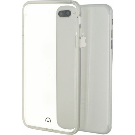 Mobilize Gelly Plus TPU Backcover für iPhone 8 Plus / 7 Plus - Silber