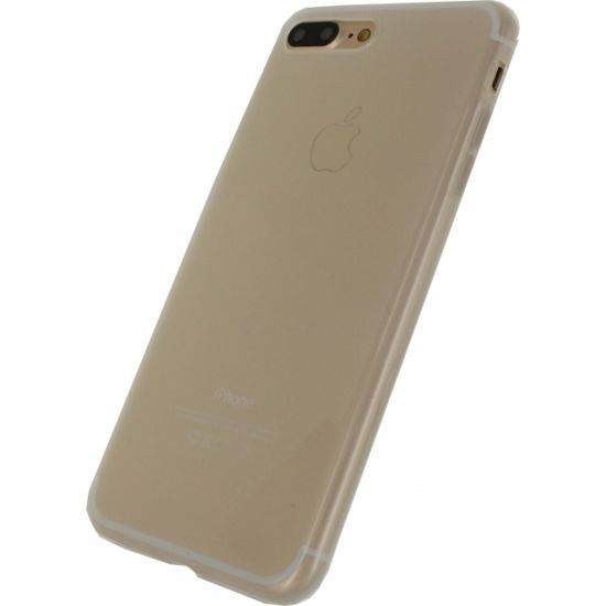 Mobilize Gelly TPU Backcover für iPhone 8 Plus / 7 Plus - Milky White