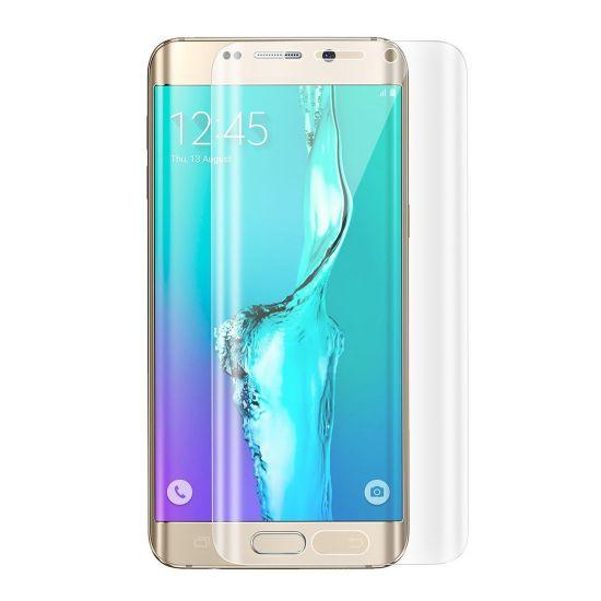 Mobigear Edge To Edge Schutzfolie Displayschutz für Samsung Galaxy S6 Edge Plus