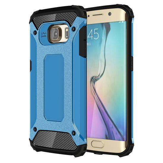 Mobigear Outdoor Hardcase Backcover für Samsung Galaxy S6 Edge - Blau