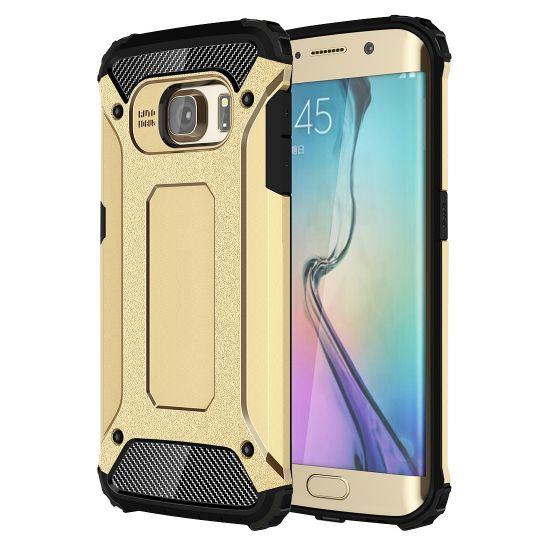 Mobigear Outdoor Hardcase Backcover für Samsung Galaxy S6 Edge - Gold