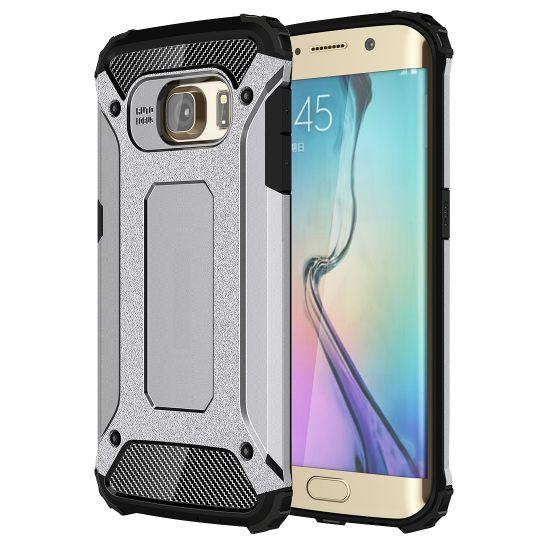 Mobigear Outdoor Hardcase Backcover für Samsung Galaxy S6 Edge - Grau