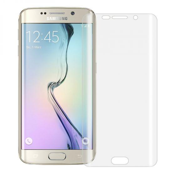 Mobigear Edge To Edge Schutzfolie Displayschutz für Samsung Galaxy S6 Edge