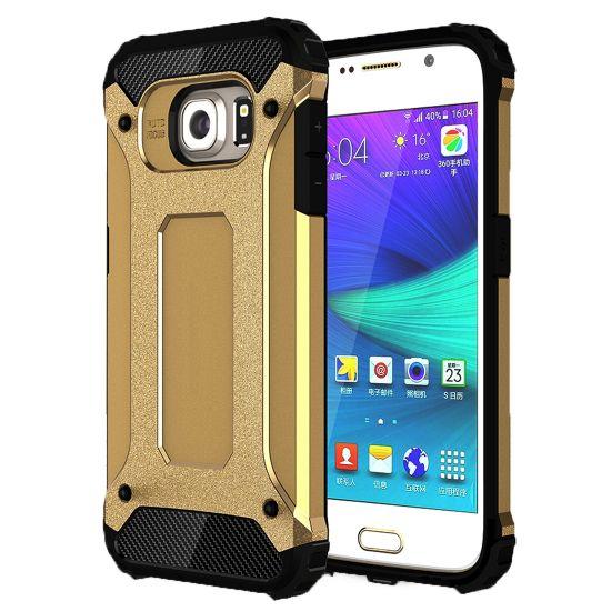 Mobigear Outdoor Hardcase Backcover für Samsung Galaxy S6 - Gold
