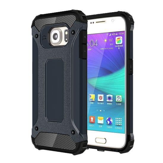 Mobigear Outdoor Hardcase Backcover für Samsung Galaxy S6 - Dunkelblau