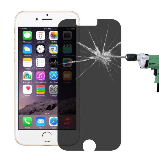 Mobigear Panzerglas Privacy Displayschutz für iPhone 6(s)