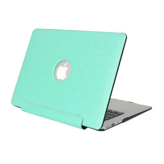 Mobigear Silk Texture United Case für MacBook Pro 13 Zoll - Grün