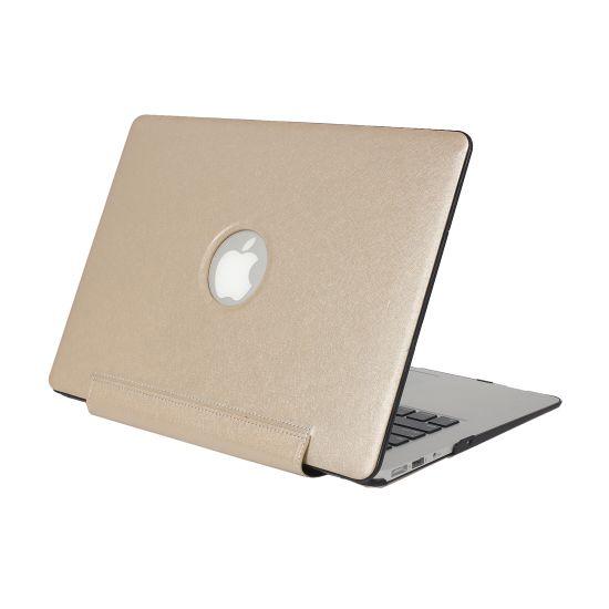 Mobigear Silk Texture United Case für MacBook 12 Zoll - Gold