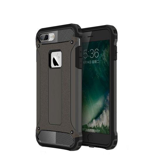Mobigear Outdoor Hardcase Backcover für iPhone 8 Plus / 7 Plus - Gunmetal