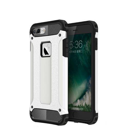 Mobigear Outdoor Hardcase Backcover für iPhone 8 Plus / 7 Plus - Weiß