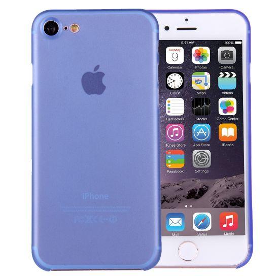 Mobigear Ultra Thin Hardcase Backcover für iPhone SE (2020) / 8 / 7 - Blau
