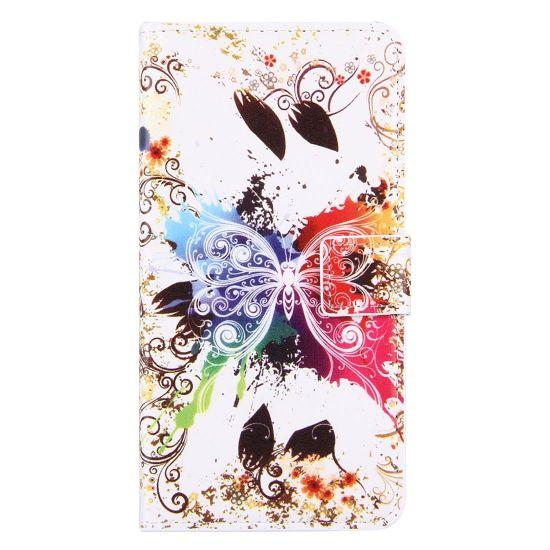 Mobigear Design Klapphülle für iPhone 8 Plus / 7 Plus - Schmetterling