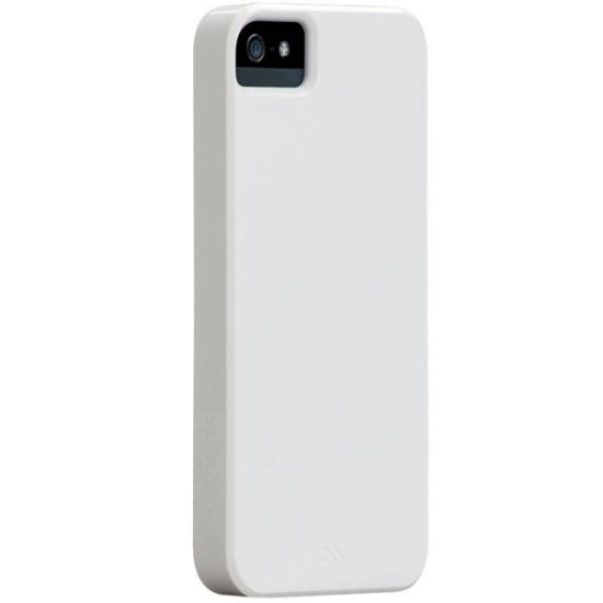 Case Mate Barely There Hardcase Backcover für iPhone SE (2016) / 5S / 5 - Glossy White