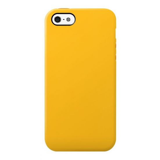 SwitchEasy Colors TPU Backcover für iPhone SE (2016) / 5S / 5 - Gelb