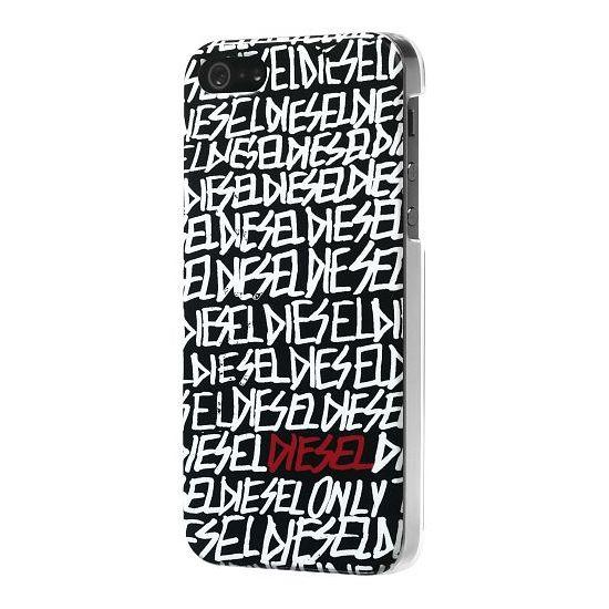 Diesel Snap Hardcase Backcover für iPhone SE (2016) / 5S / 5 - Schwarz