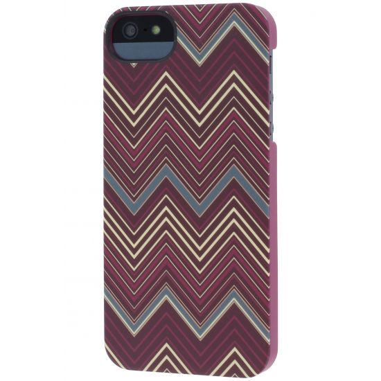 Griffin Chevron Hardcase Backcover für iPhone SE (2016) / 5S / 5 - Rot