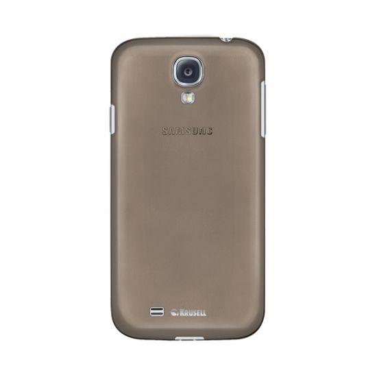 Krusell Frost Hardcase Backcover für Samsung Galaxy S4 - Schwarz