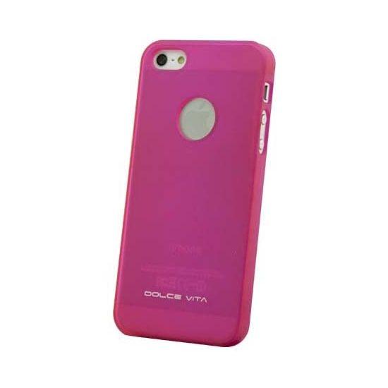 Dolce Vita Hardcase Backcover für iPhone SE (2016) / 5S / 5 - Pink