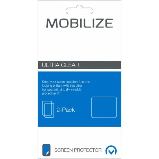 Mobilize Schutzfolie Displayschutz für iPhone SE (2016) / 5S / 5 - 2er Pack