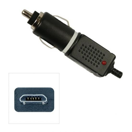 Xccess Auto Ladegerät Micro USB 1 Meter 1A - Schwarz