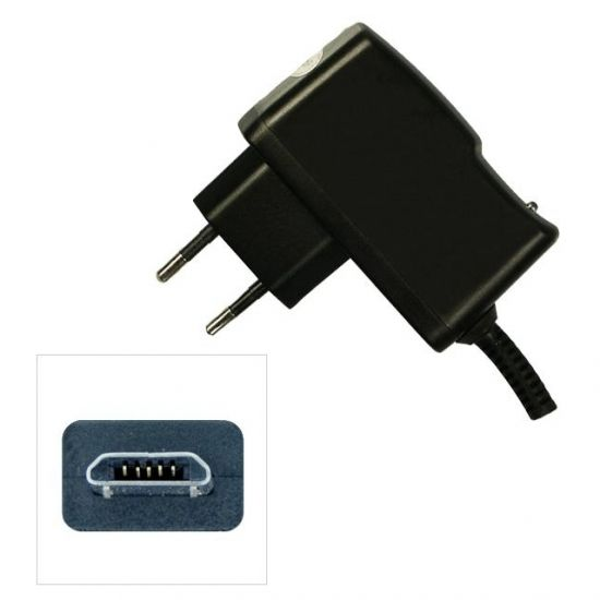 Xccess Ladegerät Micro USB 1 Meter 5W 1A - Schwarz