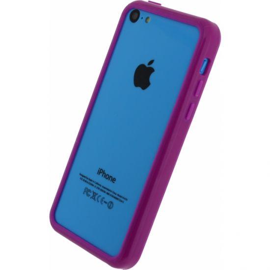 Xccess Bumper Case Kunststoff Bumper für iPhone 5C - Lila