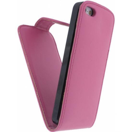 Xccess Flipcase für iPhone SE (2016) / 5S / 5 - Pink
