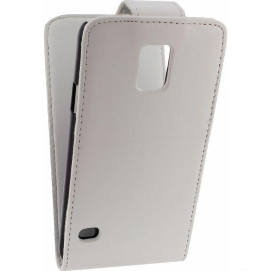 Xccess Flipcase für Samsung Galaxy S5 - Weiß