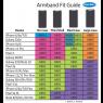TuneBelt Reflective Neopren Sportarmband Universal AB87RP - Pink