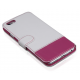 Itskins Angel Klapphülle für iPhone 6(s) - Weiß / Pink